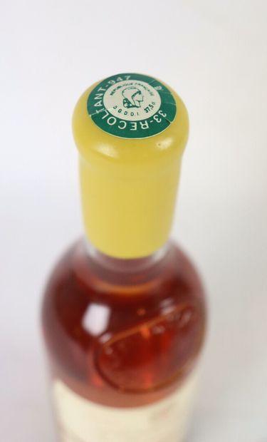 L'EXTRAVAGANT DE DOISY-DAENE.  Millésime : 2002.  1 bouteille (375 ml)