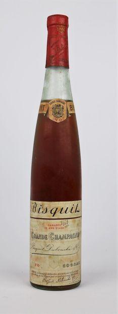 COGNAC BISQUIT DUBOUCHE.  Grande Champagne....