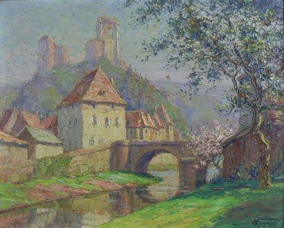 Victor Louis CUGUEN (1882-1969)  Le printemps...