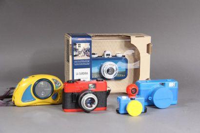 Lot de cinq appareils photo : - BEIRETTE...