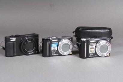 PANASONIC Lumix Trois appareils photos numériques...