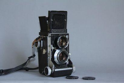 MAMIYAFLEX appareil photo reflex bi-objectifs...