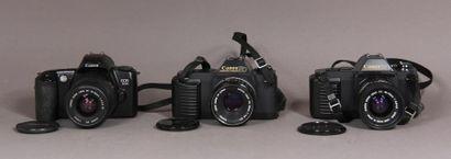 CANON Lot de 3 appareils photos : - modèle...