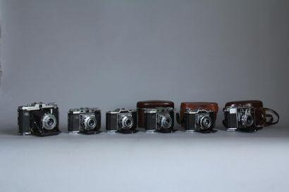 ZEISS IKON Lot de 6 appareils photos : modèle...