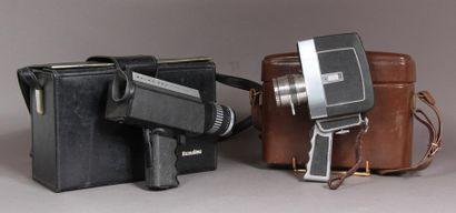 Lot de deux caméras : - BOLEX 280 macrozoom...