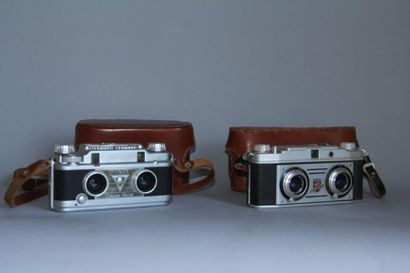 TDC 2 appareils photos stereoscopics modèles...