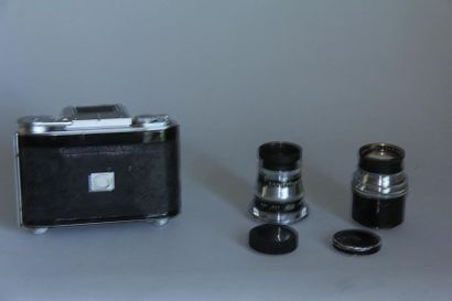 AGIFLEX appareil photo avec obj. Agilux Anastigmat f=2,8/80 ( accidents et taches...