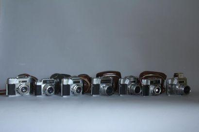 AGFA 7 appareils photos : modèle Colorflex...