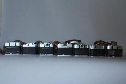 AGFA 7 appareils photos : modèle Colorflex obj. Agfa Apotar 1: 2,8/50 ( accidents,...