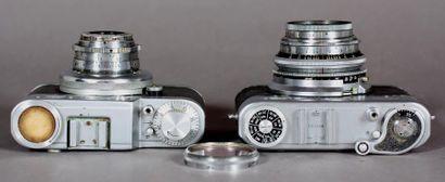 Lot : - DIAX appareil photo modèle Ib, obj.Schneider-Kreuznach Xenar 1:2,8/50 avec...