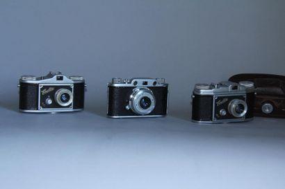 Lot de 3 appareils photos : FINETTA obj....