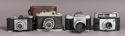 Lot de quatre appareils photo : - ALSAPHOT...