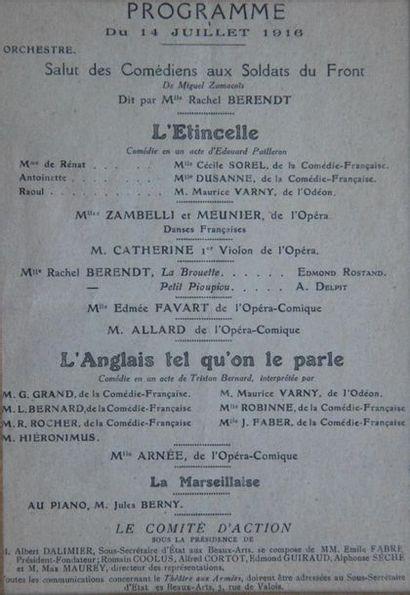 Lot : - Carton de tirage au sort conscription 1901 union franco-russe 11,5 x 14...