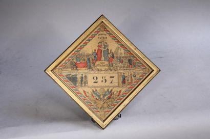 *Tirage au sort classe 1890 du canton Sceaux....