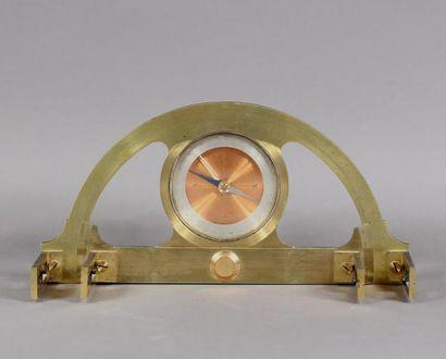 Graphomètre en métal L : 22 cm.