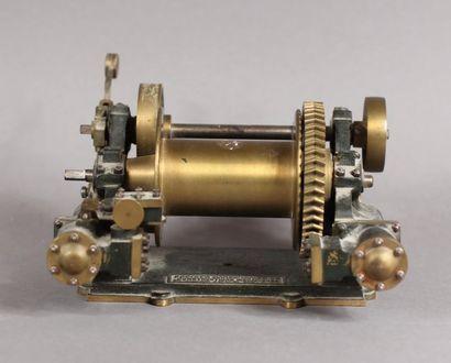 Accessoire de machine à vapeur, porte une...