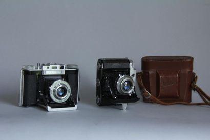 Lot de 2 appareils photos : AGILUX modèle...