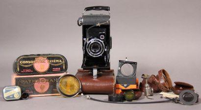 *Lot : - AGFA Appareil photo à soufflet modèle...