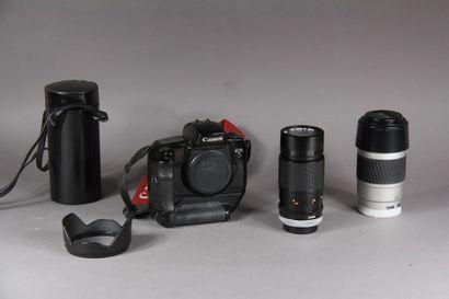 Lot : - CANON appareil photo mod-le EOS5...
