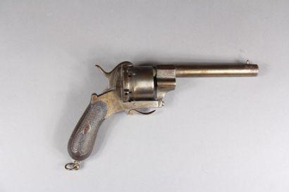 Révolver à broche cal.12 mm., type Lefaucheux,...