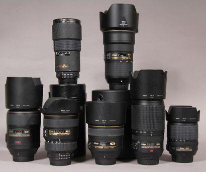 NIKON - Objectif Nikon SWM VR ED IF Diam...
