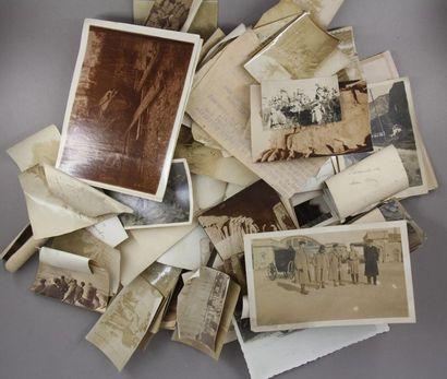 Lot de photos sur les chars RENAULT de la 1ère guerre mondiale et divers