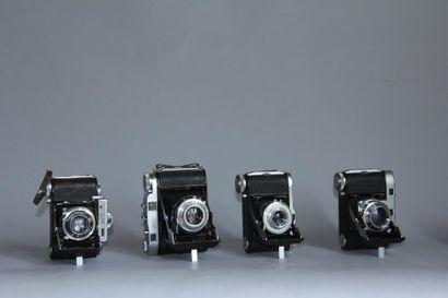 BALDA Lot de 4 appareils photos modèle Super...