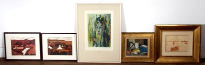 *Cinq estampes et reproductions