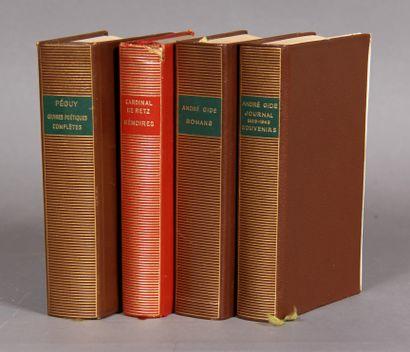 LA PLEIADE  Quatre volumes accidentés