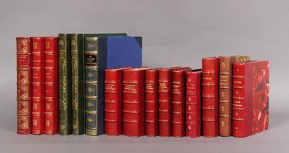 Ensemble de 15 volumes reliés sur le thème...