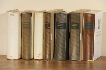 LA PLEIADE Sept volumes