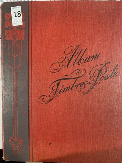 2 Albums dont 1 maury : Timbres du Monde...