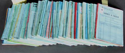 55 Carnets de circulation dont France classique...