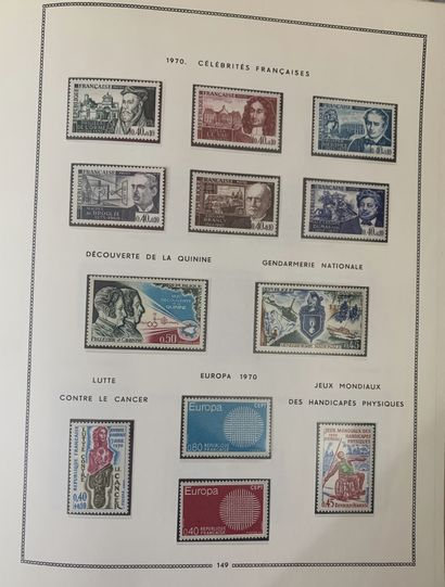 7 volumes : France + faciale moderne + blocs...
