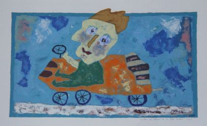 Daniel VIENE (1955-2013)  Hartur au volant...