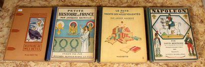 Quatre volumes d'enfants
