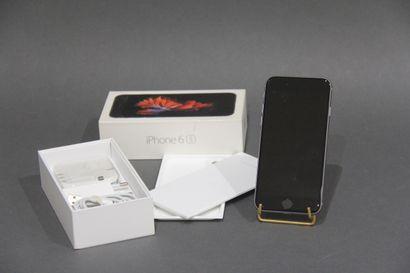 APPLE  Iphone modèle 6S (usagé) dans sa boite...
