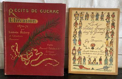 Lot de volumes pour enfants :  - HALEVY Récits...