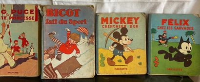 MICKEY - FELIX le chat - BICOT - ZIG et PUCE...