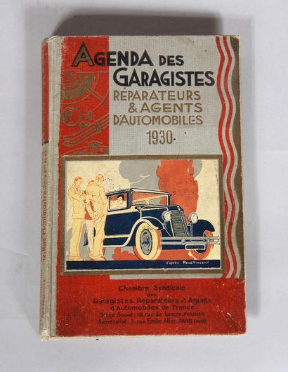 Agenda des garagistes réparateurs et agenda...