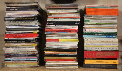 Lot de disques vinyles