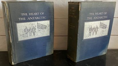 Ernest H. SHACKELTON  The heart of the Antarctic...