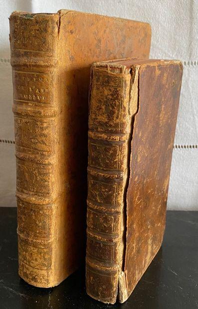 Livres du XVIIIème s.  - Abbé BOSSUT Cours...
