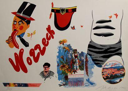 Eduardo ARROYO (1937-2018)  Wozzeck, 1972...