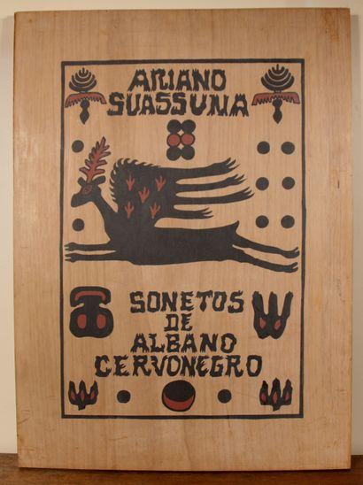 Ariano SUASSUNA (1927-2014)  Sonetos de Albano...