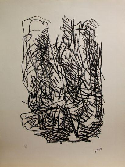 Emile GILIOLI (1911-1977)  Sans titre  Lithographie...