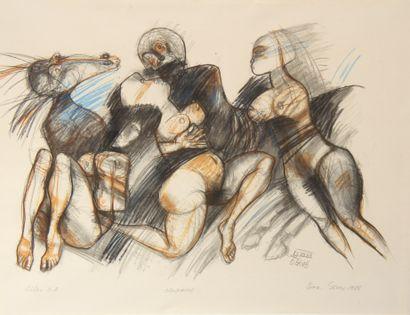 Sept lithographies  - Borislav STOEV  Centaure...
