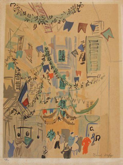 Raoul DUFY (1877-1953)  La Maison au Coin...