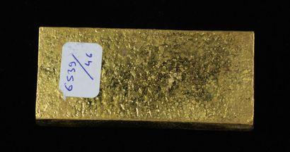 *Un lingot en or Caplain Saint André n°161880, pds : 996,9 g.