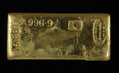 *Un lingot en or Caplain Saint André n°161881,...